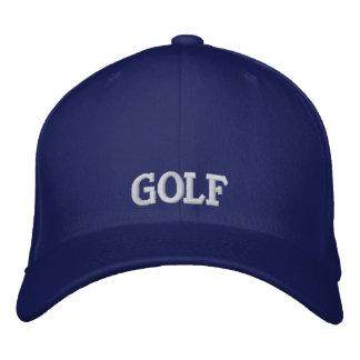 Broderad Golfhatt Kepor