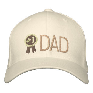Broderad hatt för fars dag/för födelsedag pappa