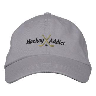 Broderad hatt för hockey knarkare