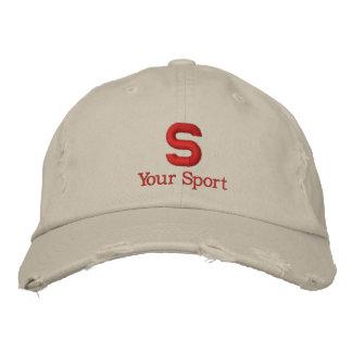 Broderad hatt för högstadium personlig