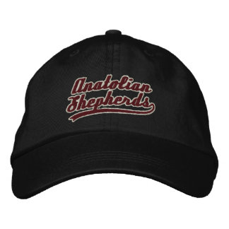 Broderad hatt för lag Anatolian herde Broderad Keps