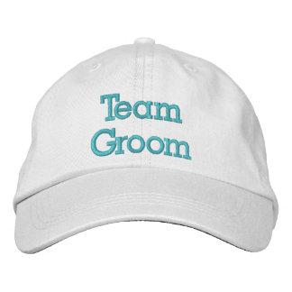Broderad hatt för lag brudgum