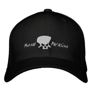 Broderad hatt för metall parasit