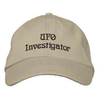 Broderad hatt för UFO utredare