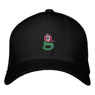 Broderad hatt för uppkomstG logotyp