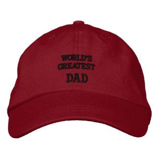 Broderad hatt för världsmästarepappa…