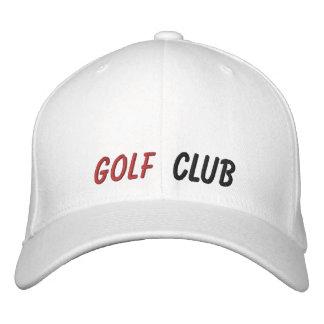 Broderad hattgolfklubb
