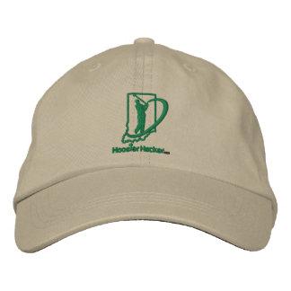 Broderad justerbar hatt för Hoosier Hacker