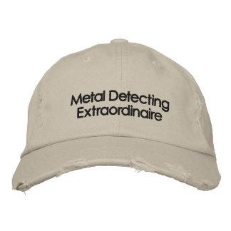 Broderad metall som avkänner hatten broderad baseball keps