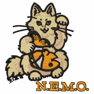 Broderad NEMO-Poloskjorta Broderade Polo Tröjor