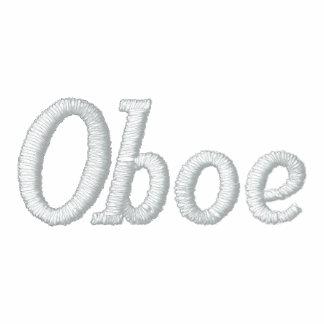 Broderad Oboe musikHoodie Broderad Munkjacka