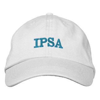 Broderad och justerbar hatt för IPSA