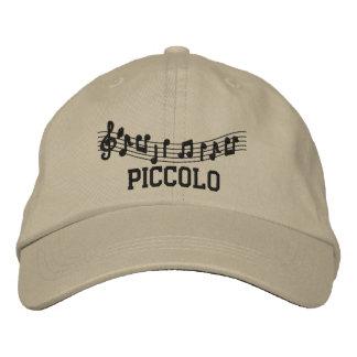 Broderad Piccolo hatt Broderad Keps