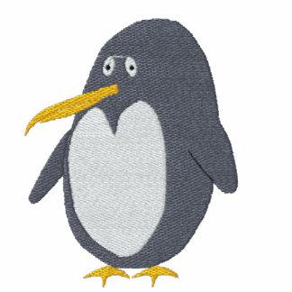 Broderad pingvinkvinnaT-tröja
