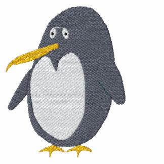 Broderad pingvinT-tröja