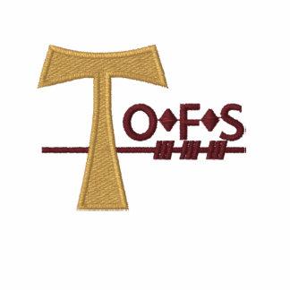 Broderad Polo för OFS sekulär Franciscan