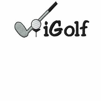 broderad skjorta för iGolf Golf