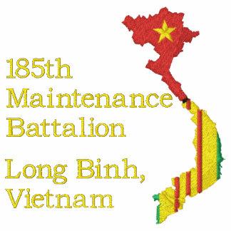 Broderad skjorta för Vietnam karta enhet