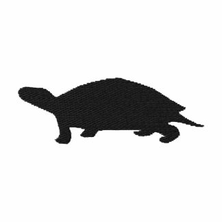 Broderad sköldpaddakvinnaT-tröja