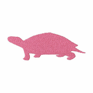 Broderad sköldpaddaT-tröja