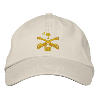 (Broderad) South Carolina kavalleri, Broderad Keps