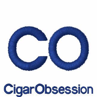 Broderad T-tröja för cigarr tvångstanke