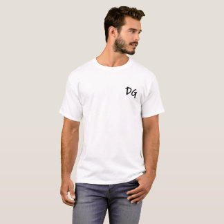 Broderad T-tröjavit för GD (Dan Goodwin) Tee Shirt