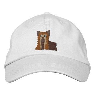Broderad Yorkie hatt