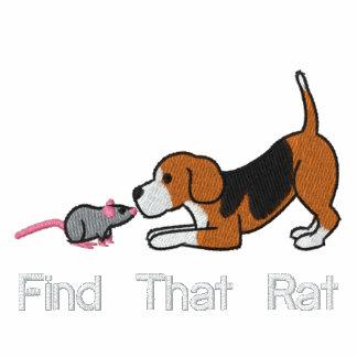 Broderade Beagle och råtta