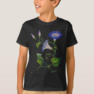 Broderade blåttmorgonhärligheter tröjor