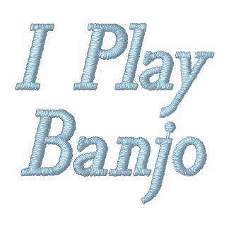 Broderat leker jag Banjomusikhoodien Hoodie