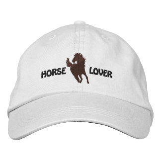 Broderat lock för häst älskare - olik hattstilar broderade kepsar