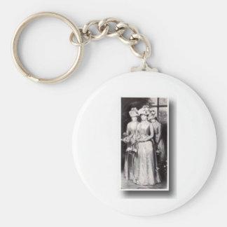 Bröllop 1800 rund nyckelring