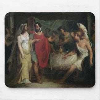 Bröllop av Alexander underbaren och Roxanaen Musmatta