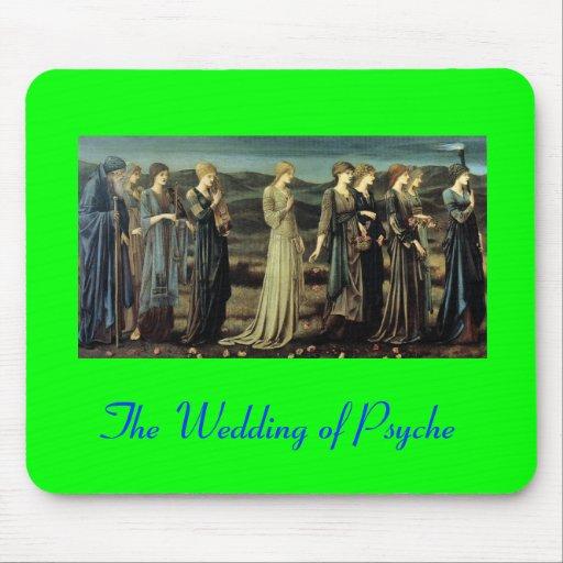 Bröllop av psyken musmattor