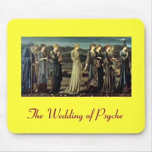 Bröllop av psyken musmatta