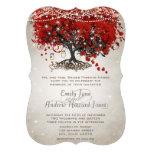 Bröllop för träd för löv för hjärta för lantlig Ma