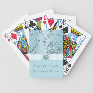 Bröllop för underland för blåttisgnistra spelkort