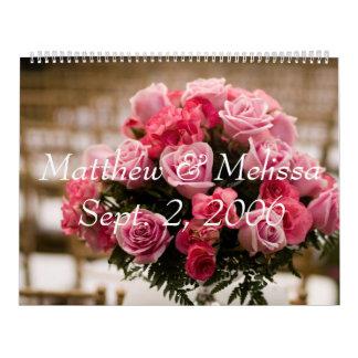 Bröllop-, Matthew & MelissaSept. 2, 2006, graduati Kalender