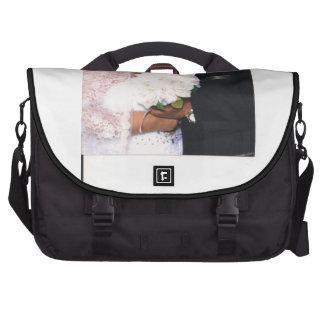 Bröllop, pendlarebärbar datormessenger bag laptop bag