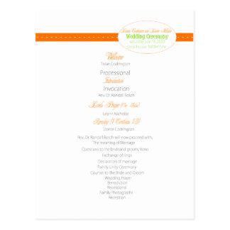 bröllop program-1, wp-4 vykort