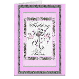Bröllop Salighet-Inbjudan Hälsningskort