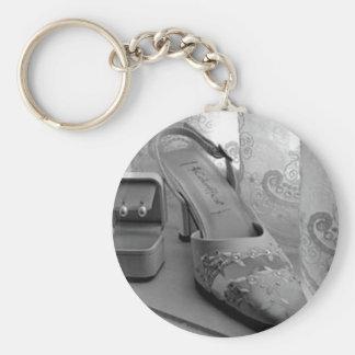 Bröllop skor fotografi nyckel ring