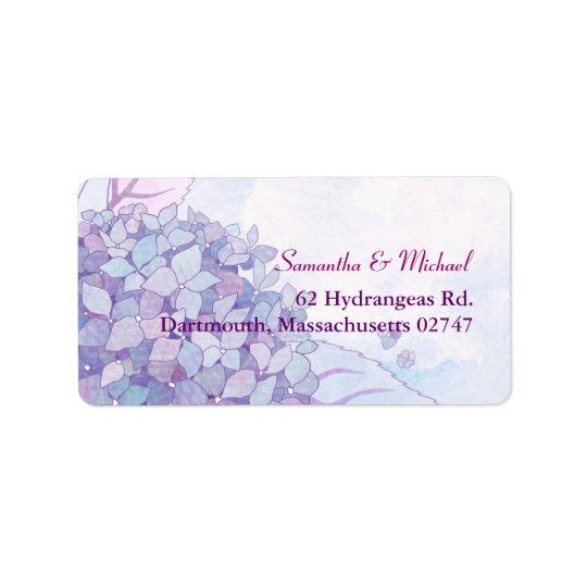 Bröllopadressetiketter Adressetikett