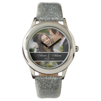 Bröllopfotominnessak Armbandsur