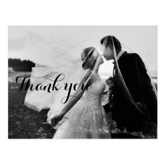 Bröllopfototackkortet Cards den | vykortet Vykort