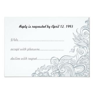 Bröllopinbjudan Set1 8,9 X 12,7 Cm Inbjudningskort