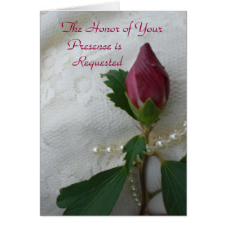 Bröllopinbjudankort Hälsningskort