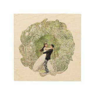 Bröllopkran Trätavla