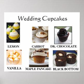 Bröllopmuffins Poster
